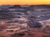USA, Utah, Canyonlands National Park, Island in the Sky District, Grand View Point Photographic Print by Michele Falzone