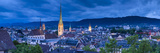 City Skyline, Zurich, Switzerland Photographic Print by Jon Arnold