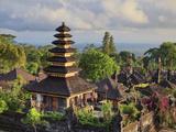 Indonesia, Bali, Besakih, Pura Agung Besakih Temple Complex Photographic Print by Michele Falzone