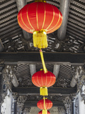 Lanterns at Chen Clan Academy, Guangzhou, Guangdong, China Photographic Print by Ian Trower