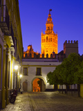 Spain, Andalucia, Seville Province, Cathedral of Seville, the Giralda Tower Photographic Print by Alan Copson