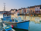 UK, Dorset, Jurassic Coast, Weymouth, Custom House Quay Photographic Print by Alan Copson
