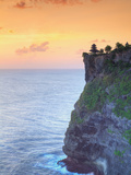 Indonesia, Bali, Uluwatu Clifftop Temple Photographic Print by Michele Falzone