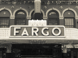 USA, North Dakota, Fargo, Fargo Theater, Marquee Photographic Print by Walter Bibikow