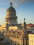 Capitolio and Gran Teatro, Havana, Cuba Photographic Print by Jon Arnold