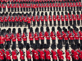 UK, England, London, Trooping the Colour Ceremony at Horse Guards Parade Whitehall Photographic Print by Steve Vidler