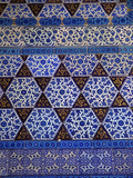 Tiles in Circumcision Room, Summer Pavilion, Topkapi Palace, Istanbul, Turkey Photographic Print by Neil Farrin