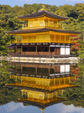 Asia, Japan, Honshu, Kansai Region, Kyoto, Kinkaku-ji or the Golden Pavilion Photographic Print by Gavin Hellier