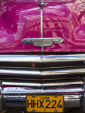 Classic American Car (Chevrolet), Havana, Cuba Photographic Print by Jon Arnold