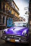 Classic American Car, Havana, Cuba Fotodruck von Jon Arnold