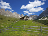 Refugio Firenze in Cisles, Ortisei, Seceda, Val Gardena,  Trentino, South Tyrol, Italy Photographic Print by Katja Kreder