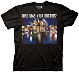 Doctor Who - Doctor Montage T-shirts