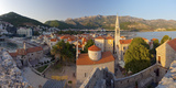 Montenegro, Budva, Old Town, Stari Grad, Church of the Holy Trinity Photographic Print by Alan Copson