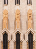 USA, Oklahoma, Tulsa, Boston Avenue United Methodist Church, Art-deco Skyscraper Church Photographic Print by Walter Bibikow