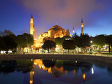 Haghia Sophia at Sunrise, (Aya Sofya Mosque), the Church of Holy Wisdom, Istanbul, Turkey Photographic Print by Neil Farrin