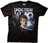 Doctor Who - Tennant Collage Shirts