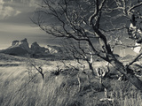 Chile, Magallanes Region, Torres Del Paine National Park, Landscape by Salto Grande Waterfall Photographic Print by Walter Bibikow