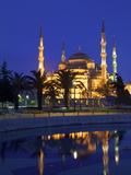 Blue Mosque at Sunrise, Istanbul, Turkey Photographic Print by Neil Farrin