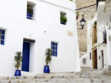 Old City of Ibiza Town, Ibiza, Balearic Islands, Spain Photographic Print by Nadia Isakova