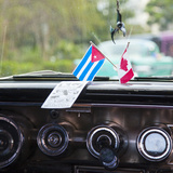 Dashboard of Classic American 50s Car, Havana, Cuba Photographic Print by Jon Arnold