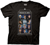 Doctor Who - 50 Years, 11 Doctors T-shirts
