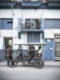 Jon Arnold - Street Scene in Centro Habana, Havana, Cuba Fotografická reprodukce