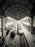 Spain, Andalucia, Seville Province, Santa Justa Train Station, Alta Velocidad Espanola Trains Photographic Print by Alan Copson