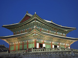 South Korea, Seoul, Gyeongbokgung Palace, Geunjeongjeon Throne Hall Photographic Print by Steve Vidler