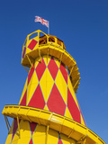 England, Somerset, Weston-Super-Mare, Helter Skelter Photographic Print by Steve Vidler