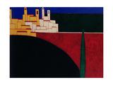 San Gimignano, 1999 Giclee Print by Eithne Donne