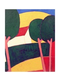 Provencal Paysage, 1997 Giclee Print by Eithne Donne