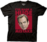 Arrested Development - Huge Mistake T-shirts