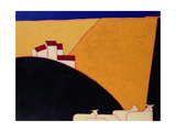 Tuscan Campagna, 1999 Giclee Print by Eithne Donne