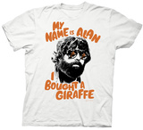 Hangover 3 - I Bought A Giraffe T-shirts