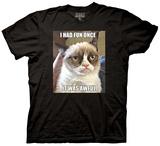 Grumpy Cat - I Had Fun Once T-shirts