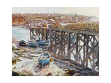 Low Tide (Whitby, North Yorkshire) 2006 Giclee Print by Martin Decent