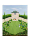 Garden by the Sea Giclee Print by Mark Baring