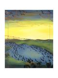1956, 1988 Giclee Print by Magdolna Ban