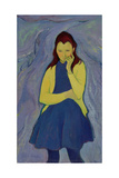 Margaret, Irish Girl, 1967 Giclee Print by Antonio Ciccone