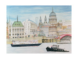 St. Pauls, London Giclee Print by Gillian Lawson