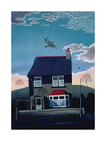 24 Lakeber Avenue, 1986 Giclee Print by Lucy Raverat