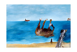 Horse Rolling on the Beach, C.1945 Giclee Print by Sir Sidney Nolan