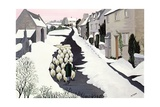 Whittington in Winter Giclee Print by Maggie Rowe