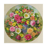 Homage to the Wild Rose Giclee Print by Albert Williams