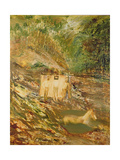 Kelly at the River Giclee Print by Sir Sidney Nolan