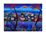 75th Anniversary of Palm Beach, Florida Giclee Print by Herbert Hofer