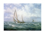 Fastnet Abeam Giclee Print by Richard Willis