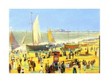 Ghosts on Brighton Beach Giclee Print by Robert Tyndall