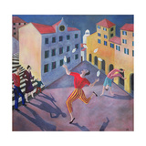 The Juggler, 1990 Giclee Print by Lucy Raverat
