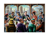 Big City Giclee Print by P.J. Crook